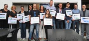 26 aug. 2018, diploma-uitreiking LMA op Papendal