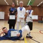 De groep uit Nederland met hun gewonnen prijzen